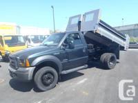 2006 Ford F450, 10FT Metal Hydrolic Dump Box, automatic
