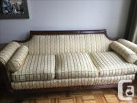 Duncan Phyfe antique couch in excellent shape except