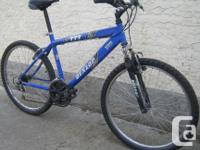Dunlop - 777 with front suspension and 26 inch tires