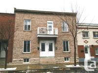 Duplex Pointe Saint-Charles Montréal à vendre - Rare