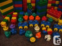 For sale a huge Lot of Duplo Primo Mix of 174 pc