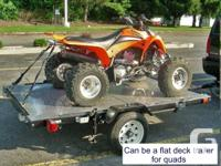 Heavy Responsibility Foldable Utility Trailer.