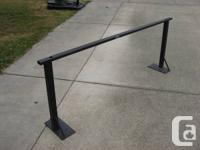 This is a sturdy truck rack, cross bar actions 6'-6""