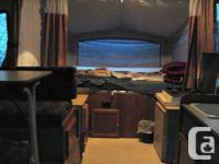 2000 Dutchman camper trailer size, sleeps 6 comfortably