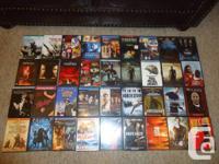 Lot de 231 films DVD, bonne condition et pas cher!. Ne