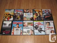 I am selling the following DVDs. They are all originals