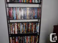 DVD Movies 185 off them, all in very good clean
