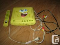 Charming SpongeBob Dvd Player with Remote. Main Shade