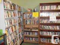 Hundreds of DVDs etc. All 1/2 price. Mar 12 - Mar 29th