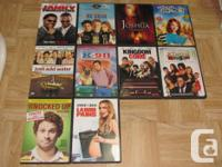 I am selling the adhering to DVDs. They are all