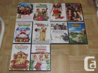 I am offering the adhering to DVDs. They are all