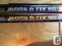 Johnny cash live in Denmark 1dvd, $2 2 seasons da