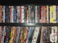 Want to sell all movies as a group $300 for about 150