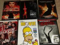 Selling lot of DVDs. Please let me know what you are
