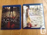 Rome Season 1 and 2 (Blue Ray) $25 The Fugative -