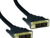 10 ft. DVI-D to DVI-D M/M electronic video clip Cable