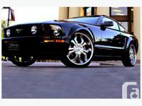 "Selling 4 20"" D'vinci Lox Chrome rims. Only 5000 km on"