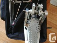 "DW Machined ""Direct Drive"" (no chain) double pedals for"