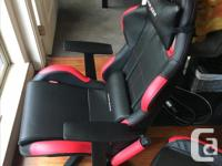 I have a black and red DX Racer gaming chair up for