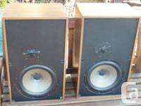 Nice pair of vintage famous fabulous warm sounding made