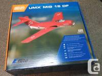 Used, I have for sale an all new Eflite UMX MiG micro radio for sale  British Columbia