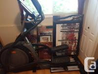 Nordictrack E11.7 elliptical trainer. Only used a