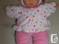 IN MINT CONDITION! Mon DouDou Corolle Babipouce Pink