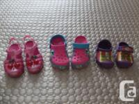 $10.00 each or 2 for $15.00 !!!!!!! 1)Kids' Crocs