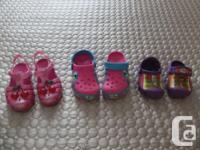 $10.00 each or 2 for $15.00 !!!!!!! 1)Crocs Light Up