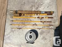 Eagle claw, Trailmaster convertible take down fly rod.
