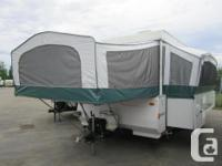 Big tent trailer with side slide. Bring some good