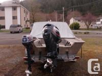 Eagle Craft 18.5 ft , 115 hp 2 stroke Evenrude ....
