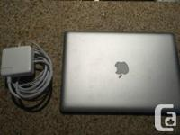 I am selling an early 2011 Macbook pro. Specs: 2.3Ghz