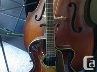 the guitar that I am selling is a Eastman AR604CE. this