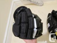 """Easton, size 13"""" hockey gloves Segmented fingers, for"""