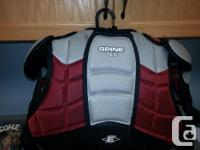 Easton Synergy Shoulder pads ($30) and Elbow Pads for sale  Manitoba