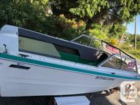 K&C Thermoglass 19 1/2 ft Project Boat. Volvo Pena 270