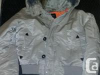 Condition is ideal. interior/orange. outer covering/