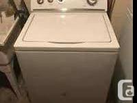 good washer and dryer in good condition works fine but