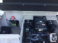 Almost new 5.0 Volvo Penta 250 hp with 31.4 hours. It's