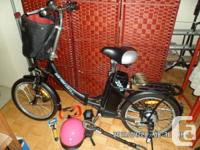 eBike (electric bike) Foldable in half, 6 gear,