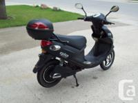 Gio 500W 48V Electric scooter. Street legal and does