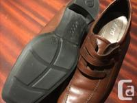 Ecco Leather Shoes Size 11. Look great with pant, kind