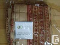 Echo Home Shower Curtain - Brand New Cotton Curtain