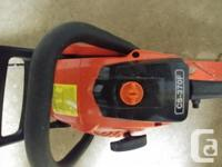 Selling my new saw, moving out of Country. Used under