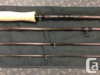 "ECHO Solo 12' 9"" #7 4 pc Spey rod with an ECHO Ion"