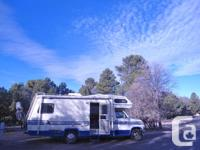 1990 25 ft Ford Econoline 350 Motorhome with 460