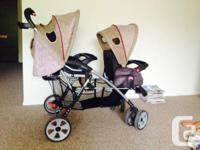 Eddie Bauer Double Stroller for sale. Any infant
