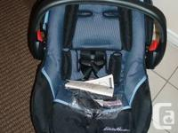 1. Eddie Bauer Infant Car Seat Designer 22 with Base (