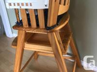 Great condition. Storage underneath seat for bibs and